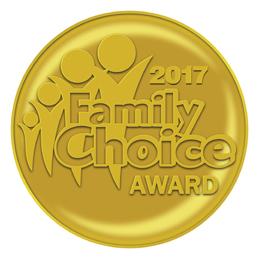 Family Choice Award 2017 for Katie's Karate Class