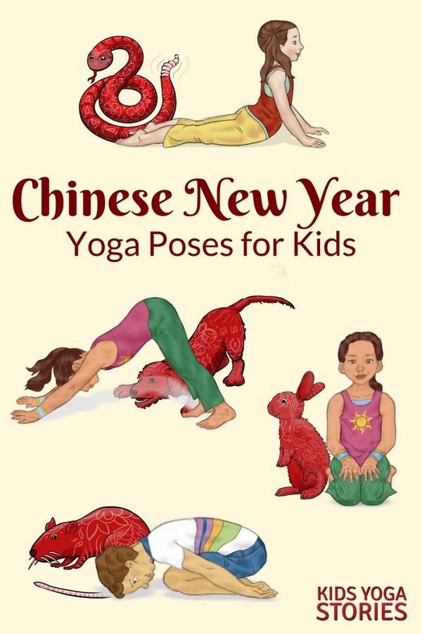 Chinese New Year for Kids - books and yoga poses for kids to learn through movement! | Kids Yoga Stories