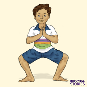 How to practice Horse Stance for Kids   Kids Yoga Stories