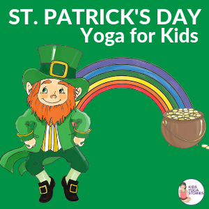 picture about Leprechaun Feet Printable identified as St. Patricks Working day for Small children: Textbooks and Yoga Poses (Printable