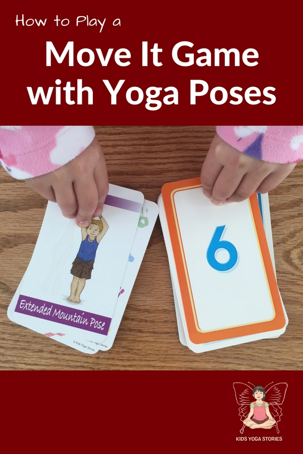 How to play a Move It Game with Yoga Poses for Kids | Kids Yoga Stories