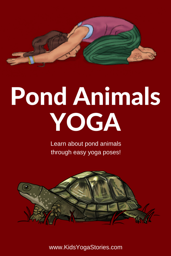 Learn about pond animals for kids through pond animal yoga! | Kids Yoga Stories