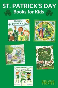 Our favorite St. Patrick's Day Books for Kids | Kids Yoga Stories