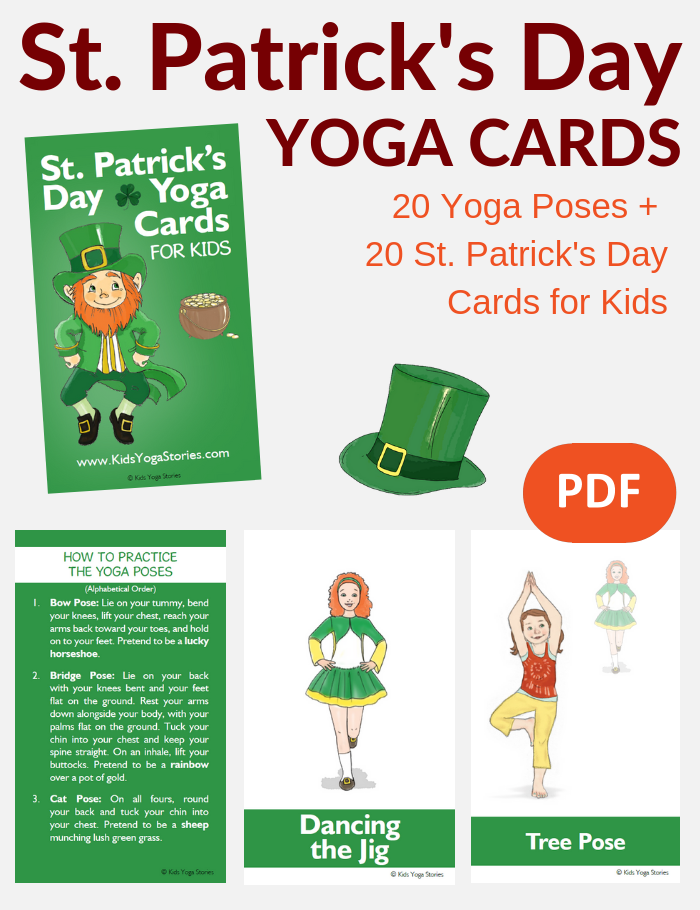 photograph relating to Leprechaun Feet Printable identify St. Patricks Working day for Little ones: Publications and Yoga Poses (Printable