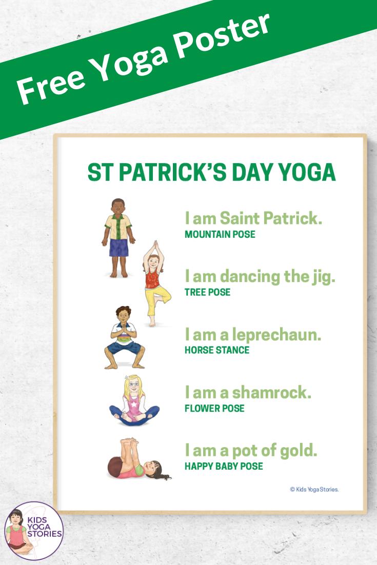free st patricks day activities | Kids Yoga Stories