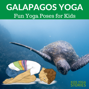 Pretend to take a trip to the Galapagos Island doing kids yoga poses| Kids Yoga Stories