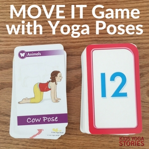 Move It Game to learn yoga poses and practice counting   Kids Yoga Stories