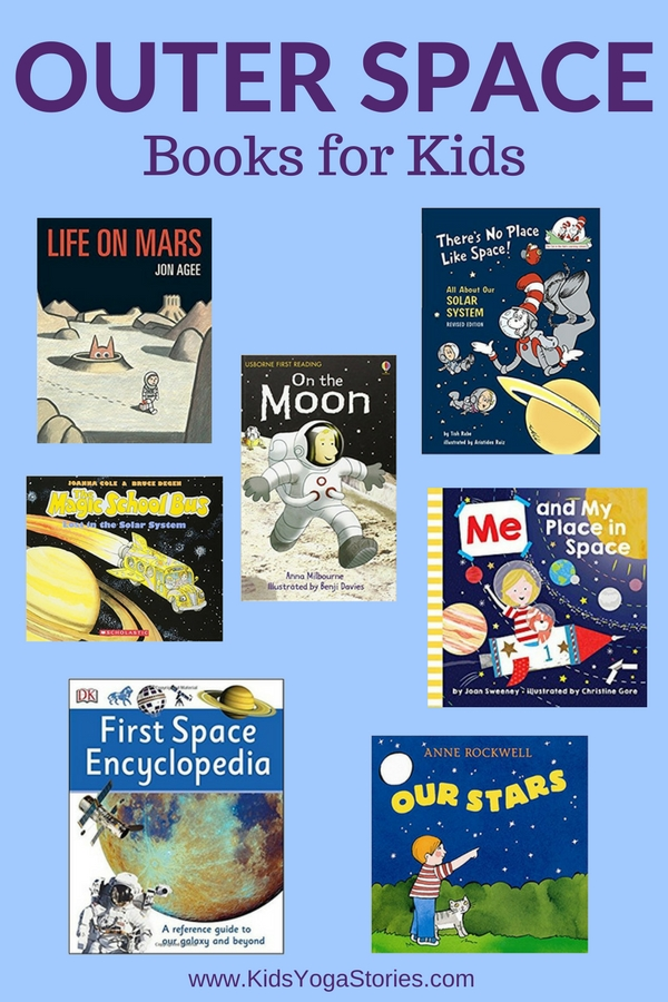 Outer Space Books for Kids | Kids Yoga Stories