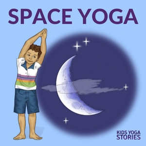 Outer Space Yoga for Kids - learn about the solar system through books and yoga | Kids Yoga Stories
