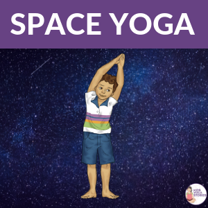 Space Yoga for kids | Kids Yoga Stories