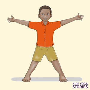 Star Pose for Kids | Kids Yoga Stories