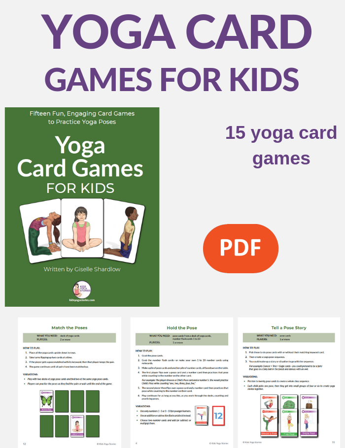 yoga games for kids using cards | Kids Yoga Stories