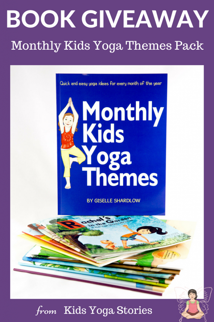 Enter to win the Monthly Kids Yoga Themes Giveaway | Kids Yoga Stories