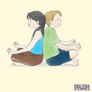Yoga poses with Mom. Celebrate Mother's Day | Kids Yoga Stories
