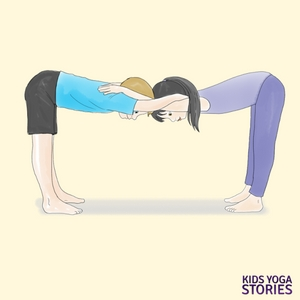 Mother's Day Partner Yoga poses | Kids Yoga Stories