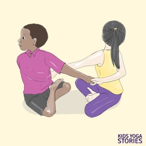 Mother's Day Yoga. Poses with mom | Kids Yoga Poses