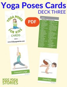 Yoga Poses for Kids Cards (Deck Three) PDF Download Image