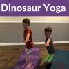 Prehistoric and dinosaur yoga lesson plans for kids | Kids Yoga Stories