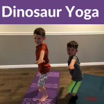 Dinosaur Yoga Lesson Plan
