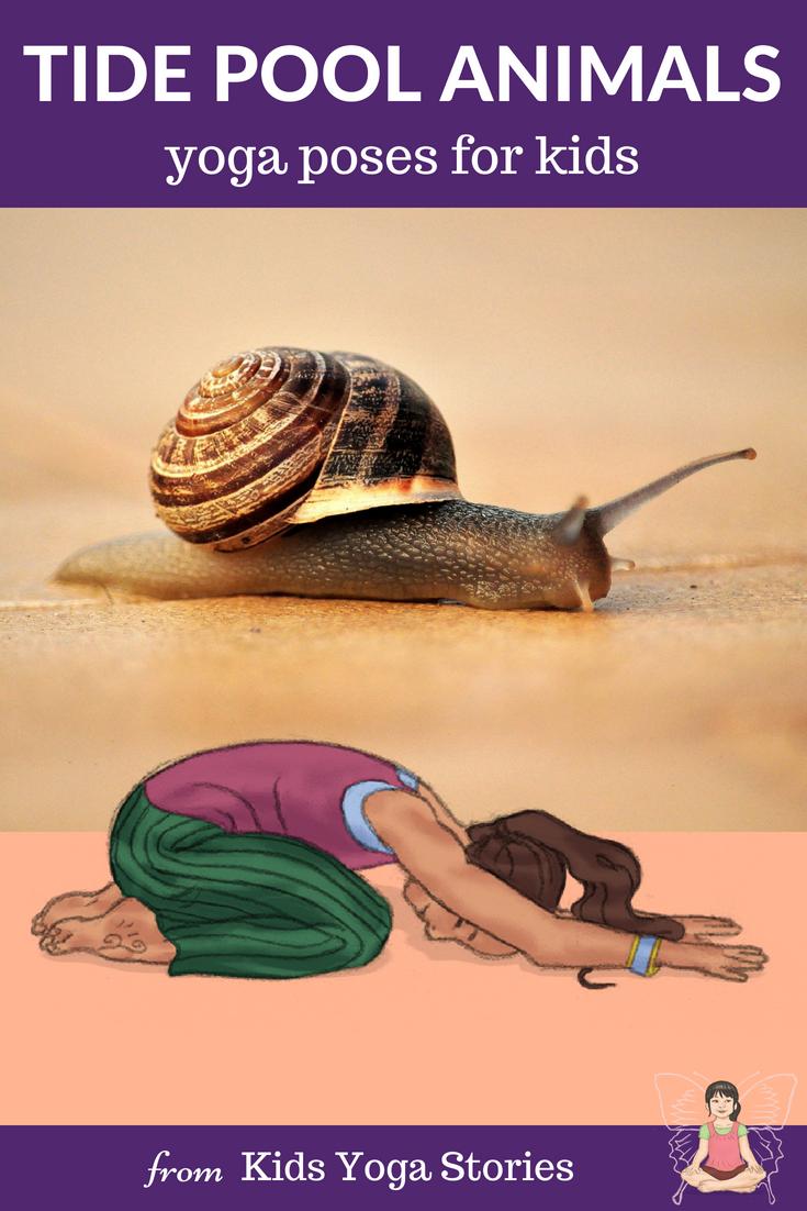 Tide Pool Yoga Poses for Kids | Kids Yoga Stories