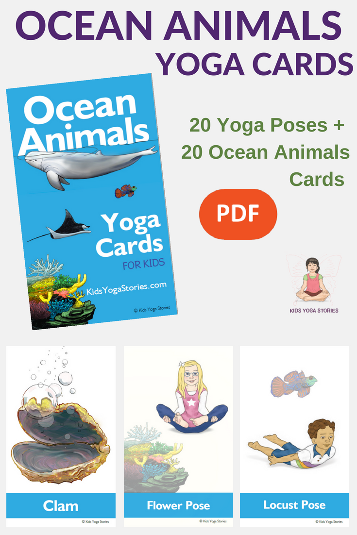 5 Ocean Yoga Poses For Kids Sea Life Comes To Life Through Movement