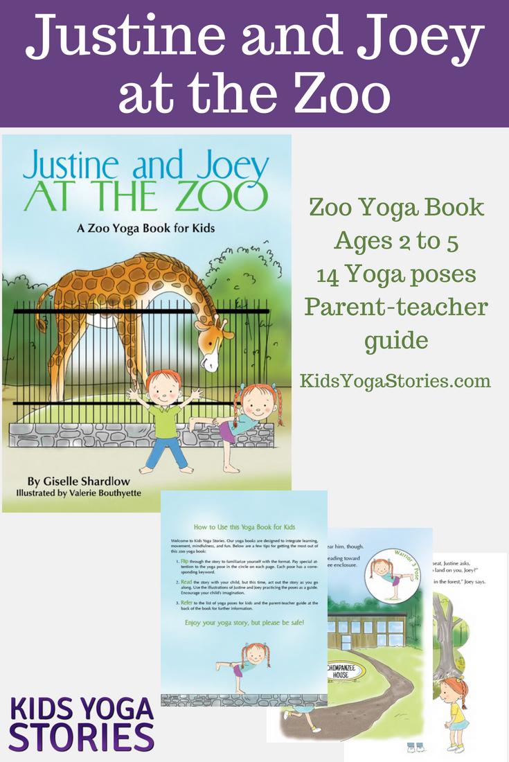 5 Zoo Yoga Poses for Kids (Printable Poster) - Kids Yoga Stories