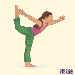 Dancer's Pose for Kids | Kids Yoga Stories