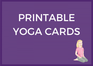 printable yoga cards for kids, kids yoga resources | Kids Yoga Stories