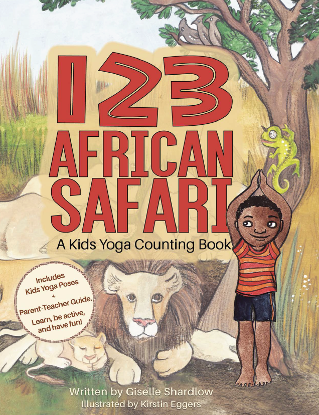 toddler yoga books on Africa | Kids Yoga Stories