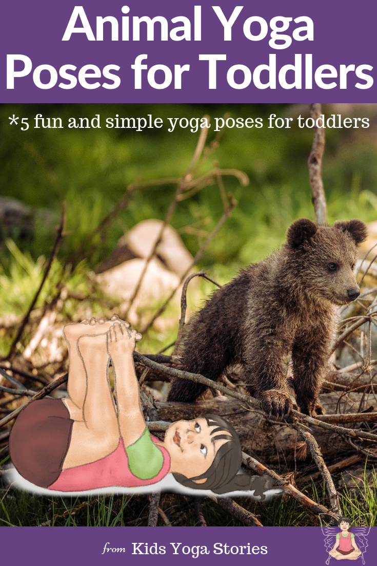 Animal yoga poses for babies and toddlers | Kids Yoga Stories