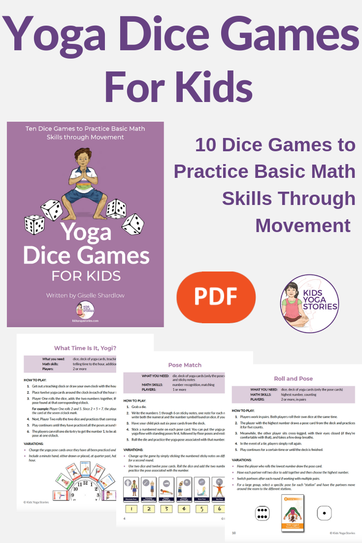 How to Play with Yoga Cards for Kids (Printable Poster