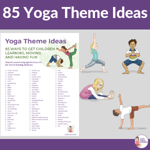 photograph about Yoga Poses for Kids Printable called 85 Enjoyment and Participating Yoga Themes for Children (Printable Poster
