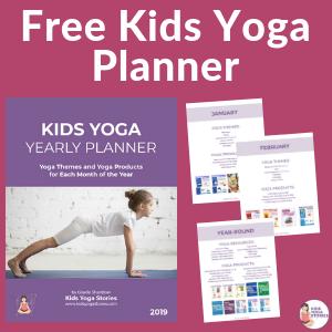 Kids Yoga Classroom Planner | Kids Yoga Stories
