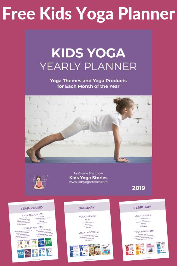 Kids Yoga Plannner | Kids Yoga Stories