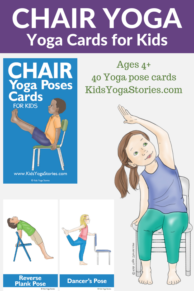 chair yoga ideas, chair yoga for kids | Kids Yoga Stories