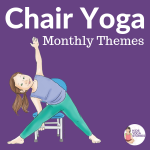 chair yoga ideas, classroom yoga poses using a chair, chair yoga | Kids Yoga Stories