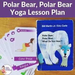 polar bear polar bear yoga ideas | Kids Yoga Stories