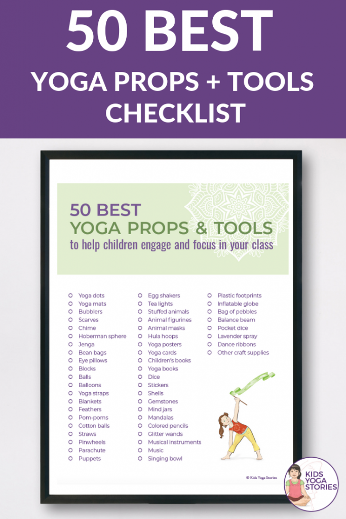 50 best yoga props for kids, yoga tools for kids | Kids Yoga Stories