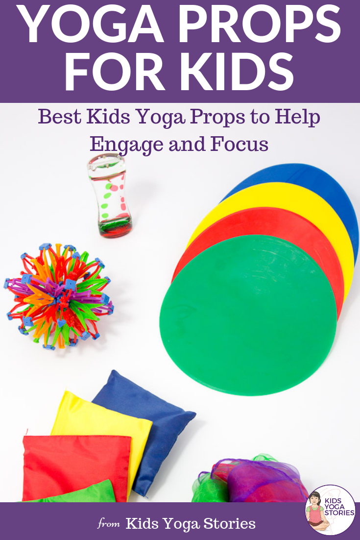 Fun yoga props for kids | Kids Yoga Stories