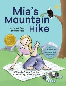 Mia's Mountain Hike Award Winning Yoga Book for Kids | Kids Yoga Stories