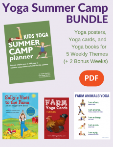 summer camp activities, summer yoga activities for kids | Kids Yoga Stories