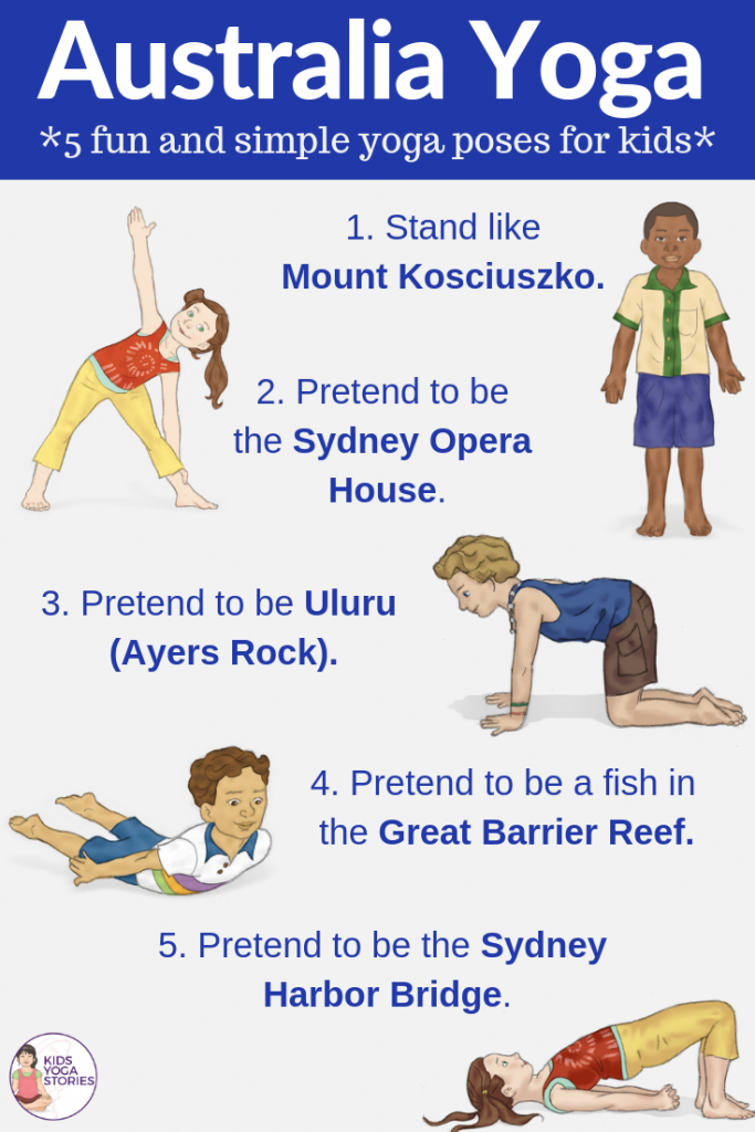 Australia activities for kids | Kids Yoga Stories