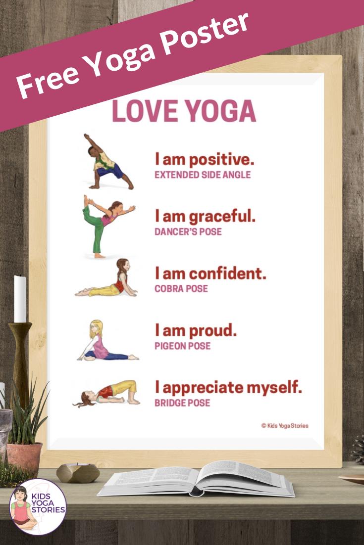 love yoga for kids | Kids Yoga Stories