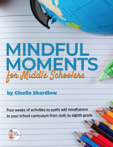 Mindfulness for Middle Schoolers | 10 minute exercises daily for 4 weeks! | Kids Yoga Stories