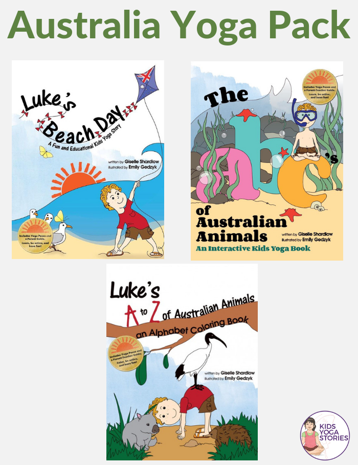 Australian Books, yoga books, yoga ideas | Kids Yoga Stories