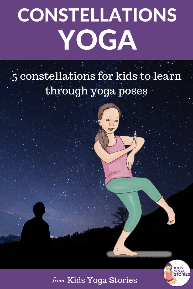 Outer space yoga, yoga in constellations | Kids Yoga Stories