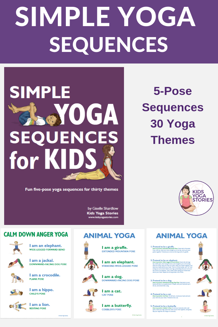 Yoga Poses, Yoga sequences simple for kids | Kids Yoga Stories