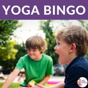 yoga games for kids, yoga bingo, yoga poses | Kids Yoga Stories