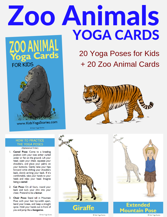 Zoo Animals Yoga | Kids Yoga Stories