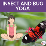 bug yoga, insect yoga, spider yoga for Kids | Kids Yoga Stories
